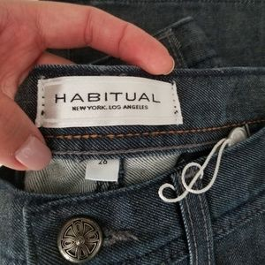 Habitual Flared/Wide Leg Jeans